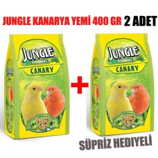 Jungle Vitaminli Kanarya Yemi 400 Gr 2 ADET