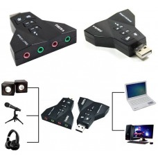 USB Virtual Ses Kartı Sound Card 7.1