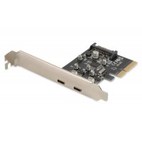 2 x Type-C PCI Express Card